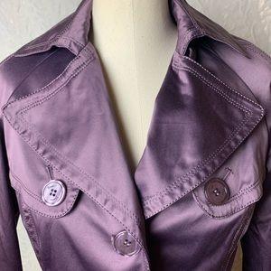 Jessica Simpson Rain Jacket-Lilac Purple-Medium
